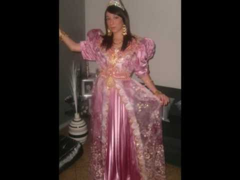 Robe marocaine chaoui oranaise manellenegafa youtube for Vente robe chaoui