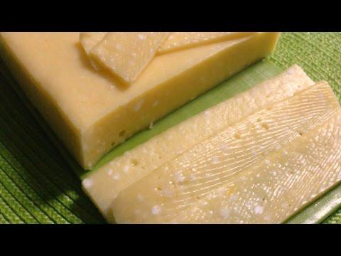 Сыр полутвёрдый. А-ля голландский сыр. Очень вкусный Сыр в мультиварке.