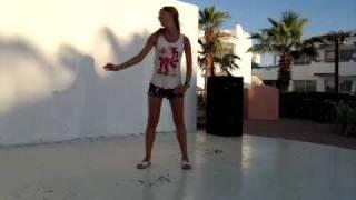 Julia's Opa Opa Club Dance At Dreams Beach Resort, Sharm, Egypt.mp4