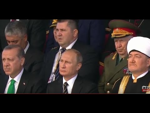 Путин и Эрдоган слушали  Коран в  Москве