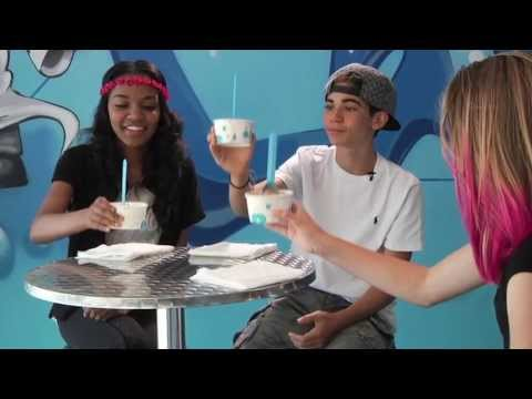 China Anne McClain & Cameron Boyce Get Chocolate Wasted!