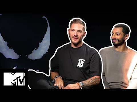 Tom Hardy & Riz Ahmed Go Speed Dating & Talk Avengers Crossover | Venom | MTV Movies