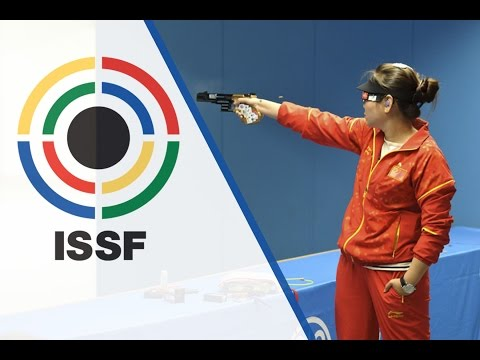 Finals 25m Pistol Women - 2015 ISSF Rifle and Pistol World Cup Final in Munich