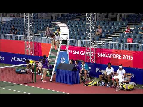 Tennis - Mixed Doubles Quarter-Finals (Day 6) | 28th SEA Games Singapore 2015