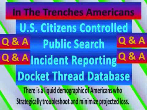 How Will Public U.S. Citizens Incident Database Help Self Employed Get Health Insurance?
