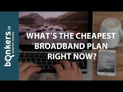 bonkers TV Ep.28: What is the Cheapest Broadband Plan Right Now?