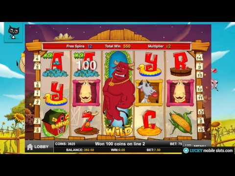 Crazy Cows Mobile Video Slot Review