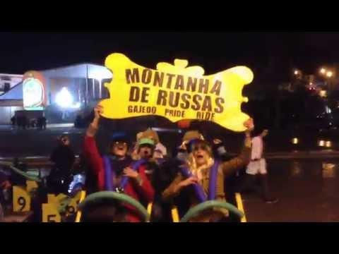 """Carnaval Alcoba�a 2015 """"Montanha Russa / Roller Coaster"""""""
