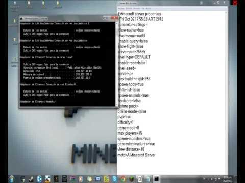 como crear un server de minecraft de 1.4.2 a 1.8.9 [SIN HAMACHI](para todas las versiones es igual)