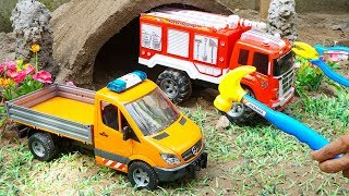 Assembly Dump Truck Toy for Kids | Crane Truck, Fire Truck Rescue Construction Toys for Children.