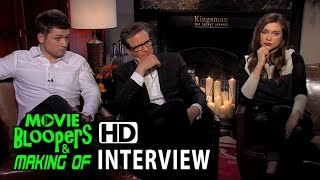 Kingsman: The Secret Service (2015) Interview - Firth, Egerton, Cookson
