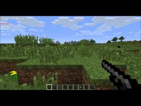 Minecraft-แนะนำmodปืนมายคราฟ