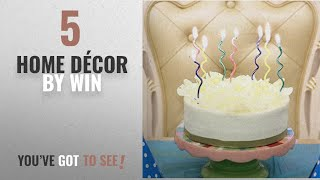 Top 10 Home Décor By Win [ Winter 2018 ]: Spiral Birthday Candles Novel Candles Fun Primary Fashion