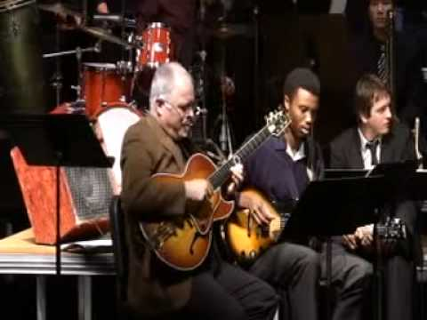 Cal Poly Jazz Band with Jamie Findlay - Footprints (Wayne Shorter arr. Matt Harris 1966)