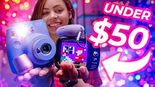 The Best Tech Under $50 - Holiday Gift Guide!