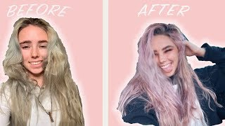 GLOW UP IN 24 HOURS (PINK HAIR)