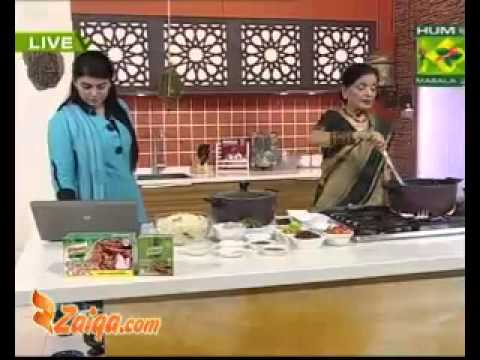 Sheer Korma And Masalaydar Mix Biryani by Zubaida Tariq