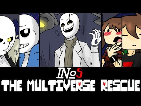 Comics The Multiverse Rescue | Undertale Глава 3 часть 5 (Озвученный Комикс)