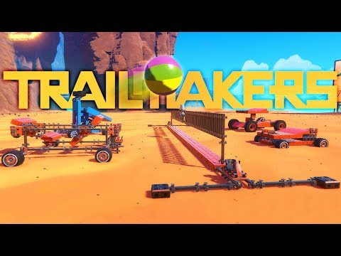 Trailmakers - Volleyball Tournament Build Off & Ball Trickshots - Trailmakers Multiplayer Gameplay