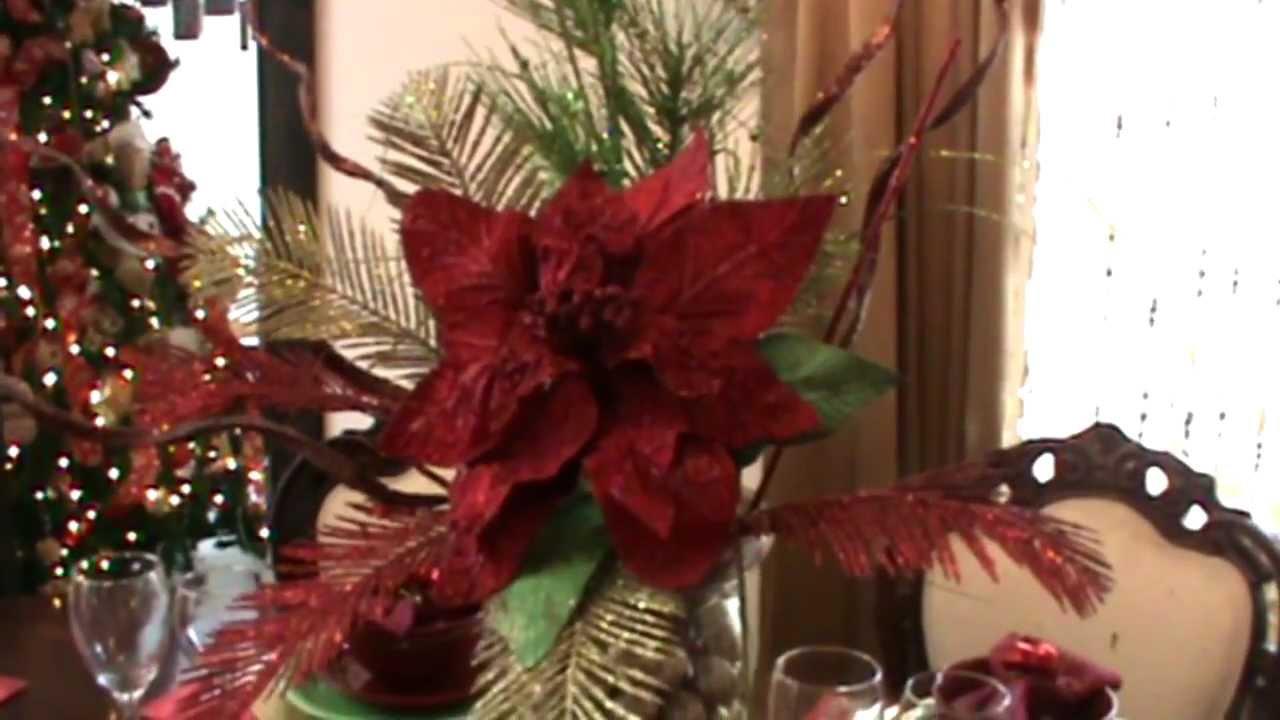 Xmas series como decorar tu mesa para una cena informal - Como decorar pinas para navidad ...