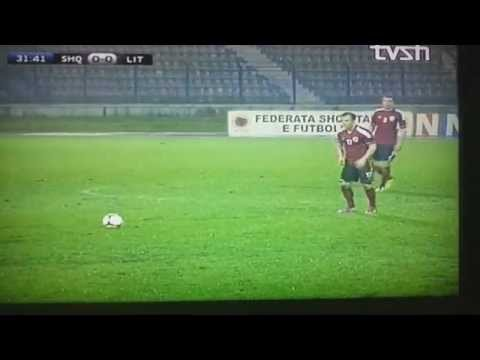ALBANIA vs Lithuania 4-1 ALL albanian goal 26.03.13