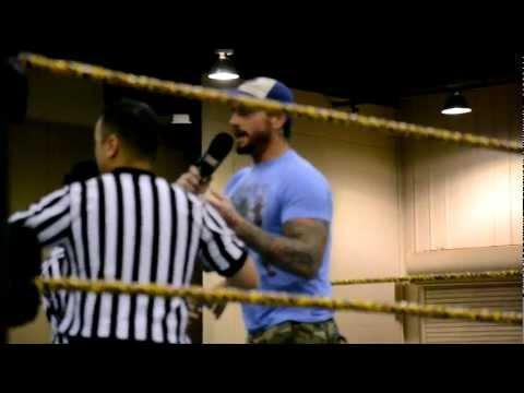 CM Punk Visits FCW 10 21 11 Part 1: Dean Ambrose calls out CM Punk