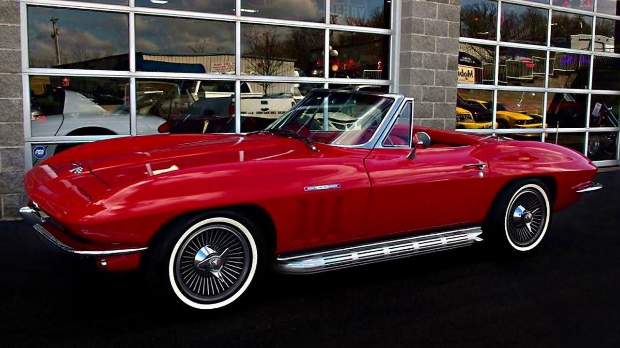 1965 Chevrolet Corvette 375 Horsepower 327 Fuelie V8