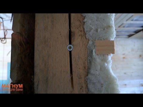 Правильная отделка стен с учетом усадки деревянного дома