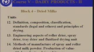 Introduction to diploma in Dairy Technology