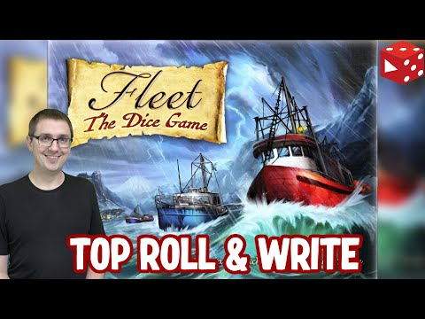 Fleet: The Dice Game - verzahntes, anspruchsvolles Roll & Write Spiel (Skellig Games 2020)