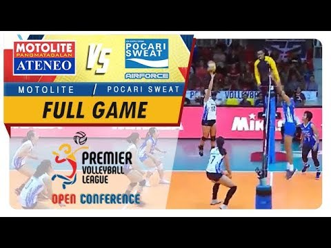 PVL OC 2018: Ateneo-Motolite vs Pocari-Air Force   Game  1st Set  September 23 2018