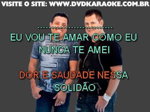 Bruno & Marrone   Dor E Saudade