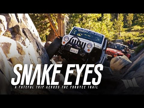 SNAKE EYES : A Fateful Off-Road Trip Across the Fordyce 4x4 Jeep Trail