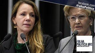 Senadora Vanessa Grazziotin ataca Jair Bolsonaro e acaba destroçada por Ana Amélia
