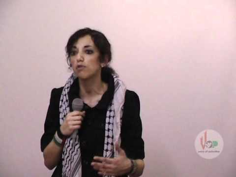 Huwaida Arraf from Free Gaza Movement at VOP (21 feb 2010)
