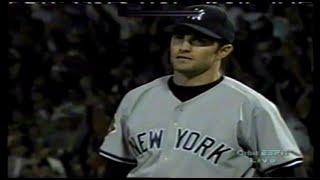 Yankees at Red Sox 09 02 2001 Mike Mussina David Cone