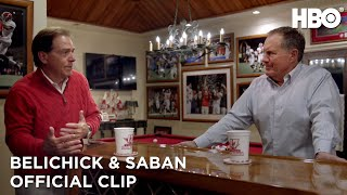 Belichick & Saban: The Art of Coaching (2019) | Belichick & Saban Discuss Draft Picks (Clip) | HBO