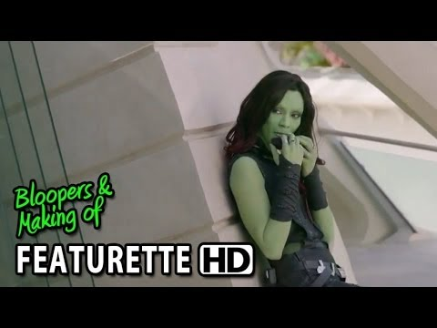 Guardians of the Galaxy (2014) Featurette - Zoe Saldana as Gamora