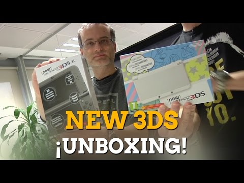 Unboxing de New 3DS y New 3DS XL