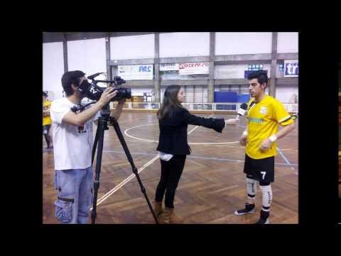 Flash Interview com Lu�s Martins e Tiago Henriques HC Vasco Gama 6   6 ACR Pessegueiro Vouga