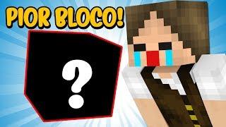 Minecraft Perfeito #18: EU FIZ UM BLOCO QUE FAZ UMA COISA TERRÍVEL NO MINECRAFT!