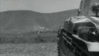 Type 89 medium tank - Imperial Japanese Army Armored Forces Exercise - September 1941