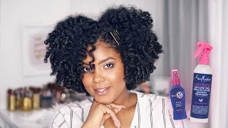 Flexirod Set on Natural Hair + Miracle Styler Brand Battle!