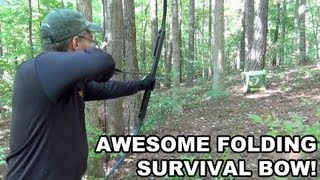 Awesome Folding Survival Bow! Primal Gear Unlimited