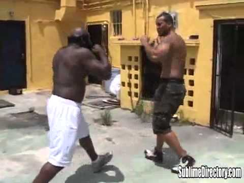 Kimbo Slice Fights Chico NEW 2012 Image 1