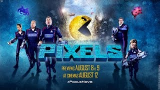 PIXELS - Official Trailer #2 - Previews August 8, 9 - At Cinemas August 12