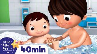 Bath Time | Nursery Rhymes & Kids Songs | Little Baby Bum | Cartoons For Kids | +More Nursery Rhymes