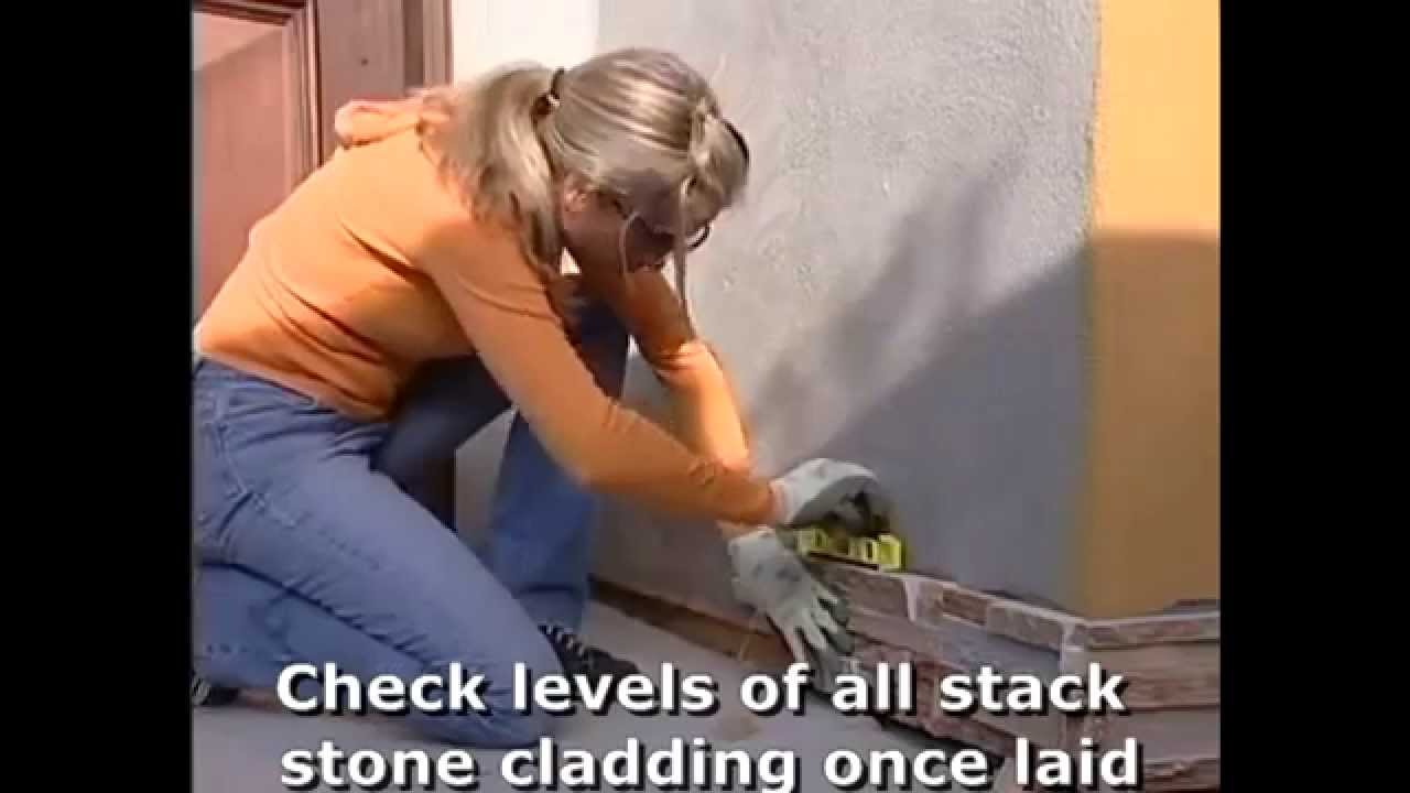 How To Install Stack Stone Cladding By Stone Amp Slate