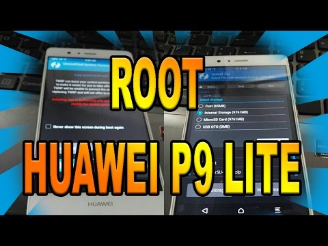 ROOT HUAWEI P9 LITE (Android 6 - M)