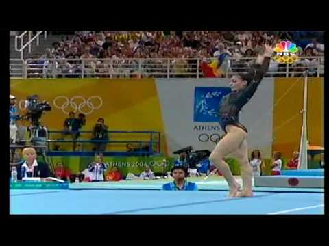 Catalina Ponor (rom) Gold Medal Ef Fx Athens Olympics 2004 (hd) video